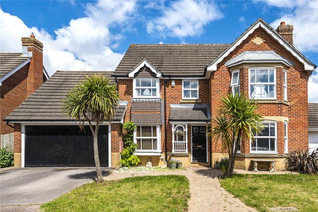 Thumbnail Detached house for sale in Larkin Close, Coulsdon