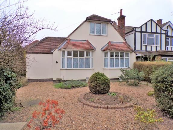 Thumbnail Bungalow for sale in Loughborough Road, Birstall, Leicester, .
