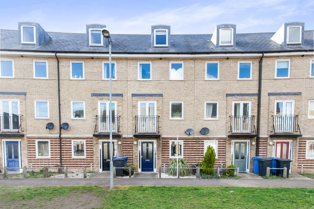 Thumbnail Town house for sale in Harland Street, Ipswich