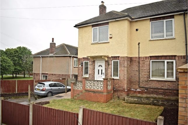 Thumbnail Semi-detached house for sale in Mapletoft Avenue, Woodhouse