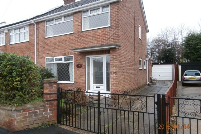 Thumbnail Semi-detached house to rent in Peakes Avenue, New Waltham, Grimsby