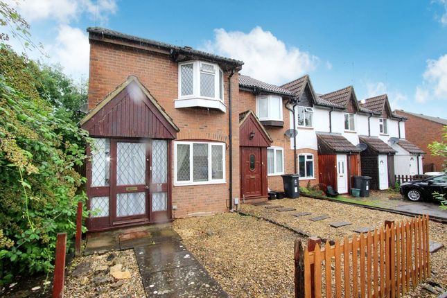 Thumbnail End terrace house to rent in Woodbury Close, Nine Elms, Swindon, Wiltshire
