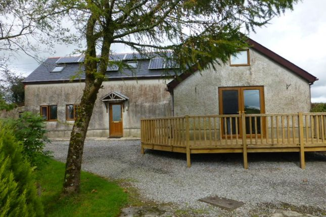 Detached house to rent in Llangynog, Carmarthen