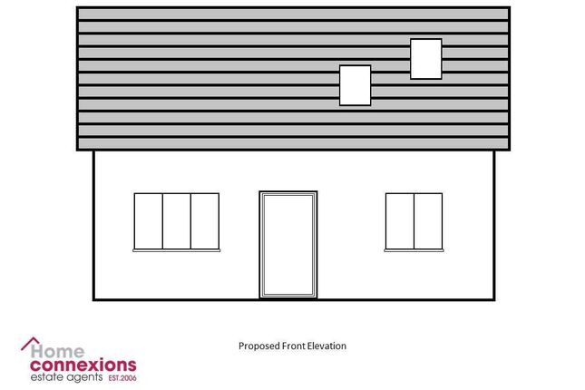 Proposed Property Front Elevation
