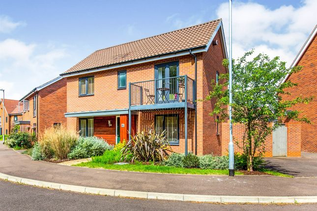 Thumbnail Detached house for sale in Firefly Road, Upper Cambourne, Cambridge