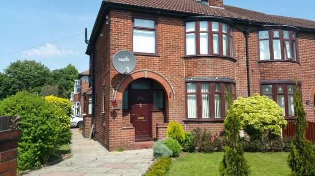 Thumbnail Semi-detached house to rent in Liverpool Road, Eccles, Manchester, Greater Manchester