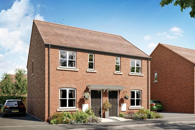 """Thumbnail Semi-detached house for sale in """"Type 79"""" at Bransford Road, Worcester"""