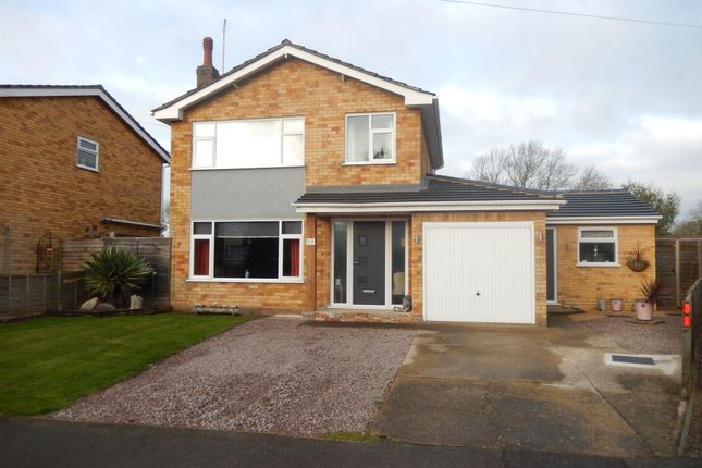 Thumbnail Detached house for sale in Locks Close, Deeping St. James, Peterborough