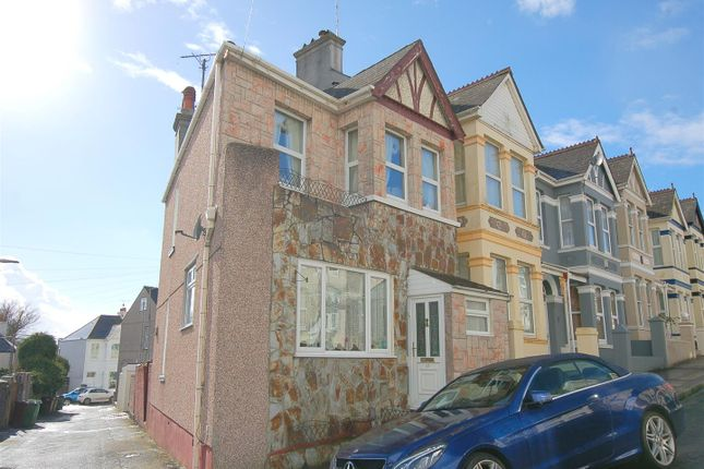 Thumbnail End terrace house for sale in Belair Road, Plymouth