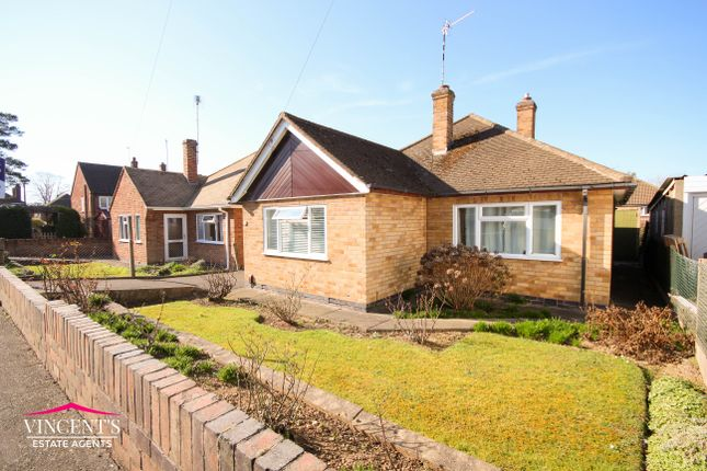 Thumbnail Detached bungalow for sale in Crowhurst Drive, Leicester