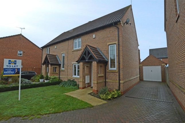 Thumbnail Semi-detached house to rent in Blyth Close, Cawston, Rugby, Warwickshire