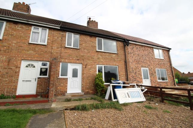 Thumbnail Terraced house to rent in Northfield Road, Driffield