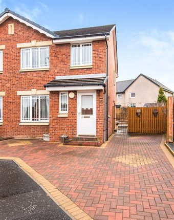 Thumbnail Semi-detached house for sale in Camellia Drive, Wishaw