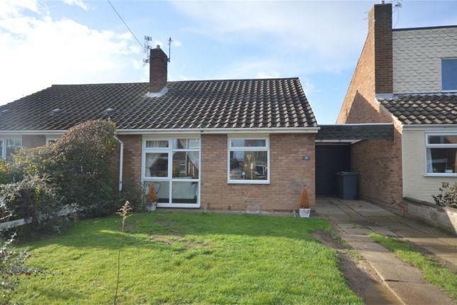 Thumbnail Semi-detached bungalow for sale in Meadow Way, Hellesdon, Norwich, Norfolk
