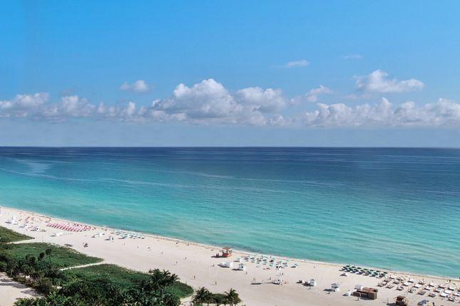 View Ocean Sea Fasano Shore Club South Beach Miami Florida