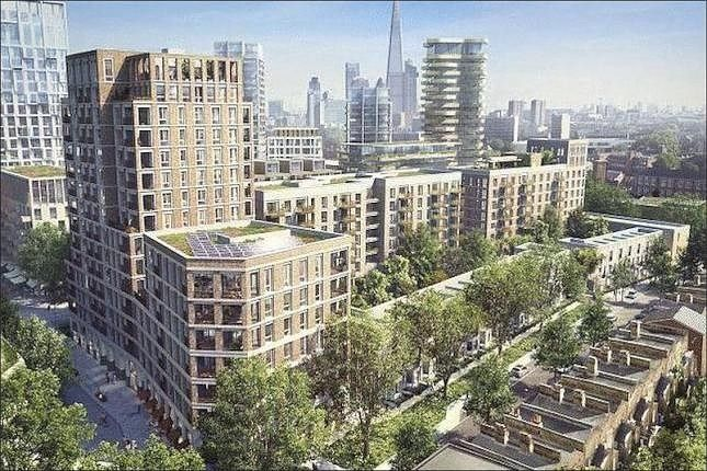 Thumbnail Flat to rent in South Garden Point, Elephant Park, London