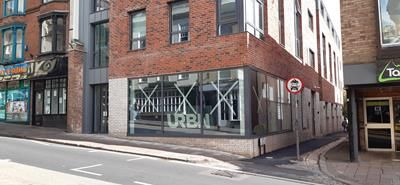 Retail premises to let in City Arcade, Fore Street, Exeter, Devon