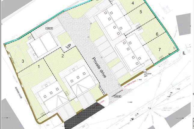 Site Plan. of Cowrakes Road, Huddersfield HD3