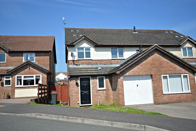 Thumbnail Semi-detached house for sale in Pensarn Way, Henllys, Cwmbran