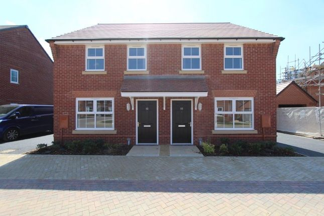 Thumbnail Semi-detached house for sale in Torry Orchard, Marston Moretaine, Bedford