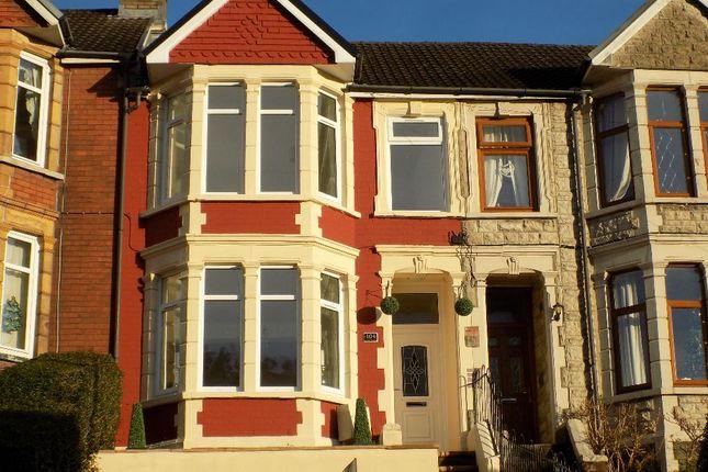 Thumbnail Terraced house for sale in Alexandra Road, Six Bells, Abertillery. 2Lh..