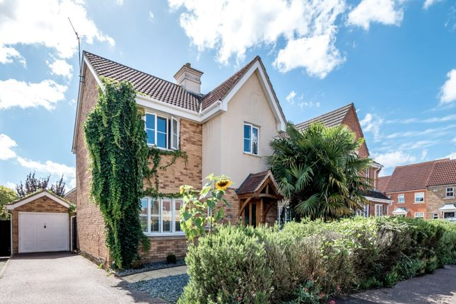 Thumbnail Detached house for sale in Kingfisher Road, Shefford, Bedfordshire.