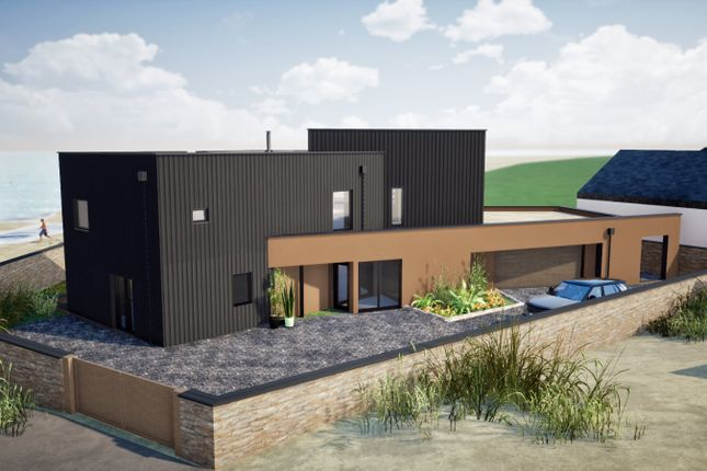 Thumbnail Detached house for sale in Marine Drive, Widemouth Bay, Bude, Cornwall
