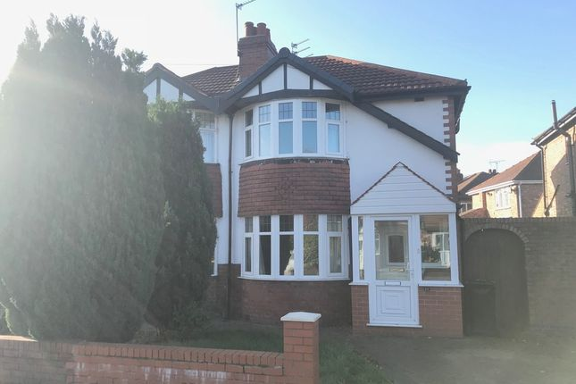 Thumbnail Semi-detached house to rent in Arderne Road, Timperley, Altrincham