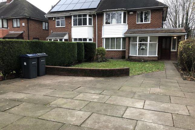 Thumbnail Semi-detached house for sale in The Ridgeway, Erdington, Birmingham