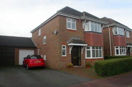 Thumbnail Detached house to rent in Bletchley, Milton Keynes