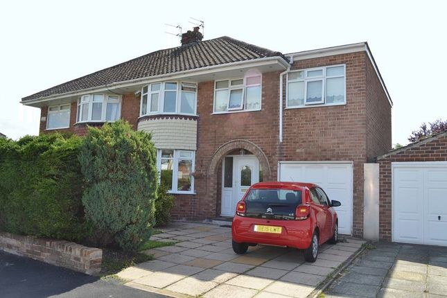 4 bed semi-detached house for sale in Moss Lane, Maghull, Liverpool