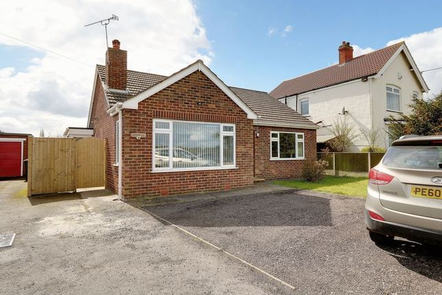Thumbnail Detached bungalow for sale in Scawby Road, Scawby Brook, Brigg