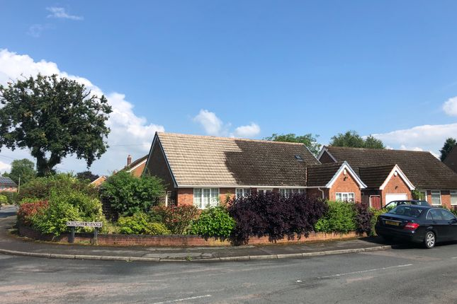 Thumbnail Detached bungalow for sale in Cromwells Meadow, Lichfield