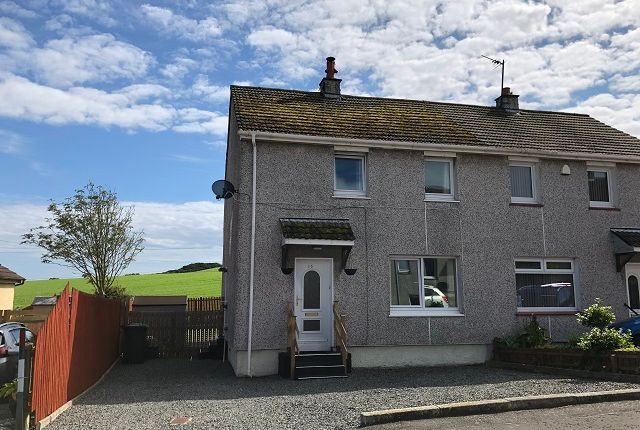 Thumbnail Semi-detached house for sale in Harbour Terrace, Drummore Stranraer