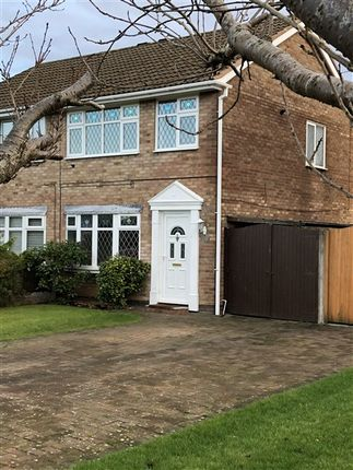 Thumbnail Semi-detached house to rent in Cartmel Close, Southport
