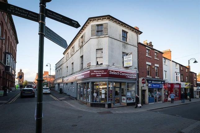 Thumbnail Commercial property for sale in Derby Street, Leek