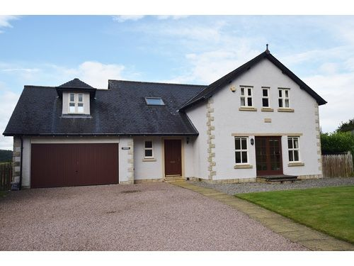 Thumbnail Detached house to rent in 37 Druids Park, Murthly