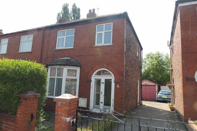 Thumbnail Semi-detached house for sale in Erlesmere Avenue, Denton, Manchester