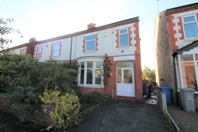 Thumbnail Semi-detached house to rent in Windsor Avenue, Urmston, Manchester