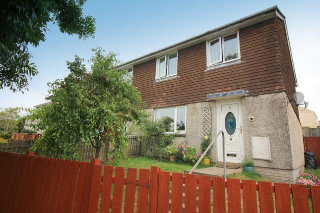 Thumbnail End terrace house for sale in Summerfields, St. Stephens, Saltash