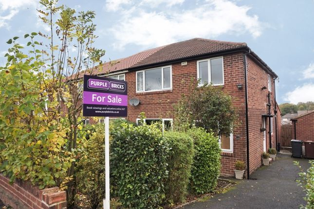 Thumbnail Semi-detached house for sale in Carr Hill Avenue, Pudsey