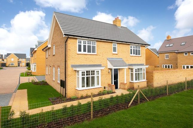 "Thumbnail Detached house for sale in ""Alnmouth"" at Southern Cross, Wixams, Bedford"