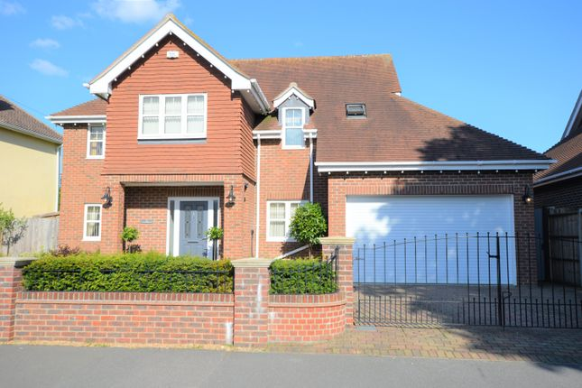 Thumbnail Detached house for sale in Warblington, Hampshire