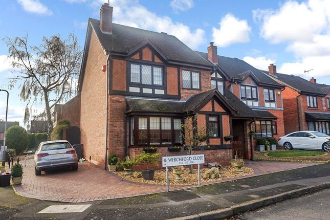 Thumbnail Detached house for sale in Whichford Close, Walmley, Sutton Coldfield