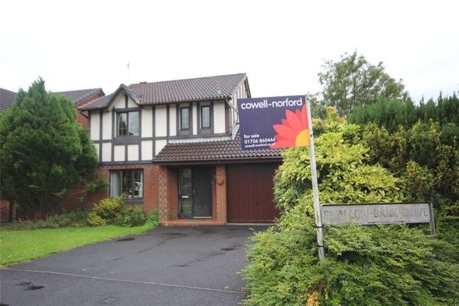 Detached house for sale in Swallow Bank Drive, Rochdale, Greater Manchester
