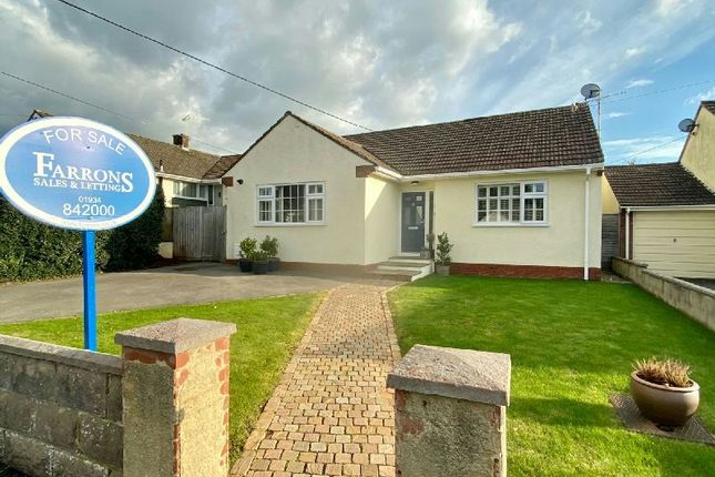 Thumbnail Detached bungalow for sale in Woodborough Drive, Winscombe