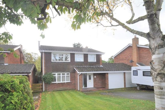 Thumbnail Detached house for sale in Westfields Rise, Woore, Crewe