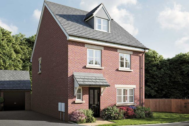 "Thumbnail Detached house for sale in ""The Ripley"" at Smug Oak Lane, Bricket Wood, St.Albans"