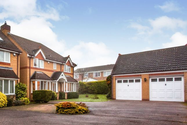 Thumbnail Detached house for sale in Elm Way, Melbourn, Royston