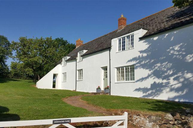 Thumbnail Detached house to rent in Greenacres Farm, Trull, Taunton